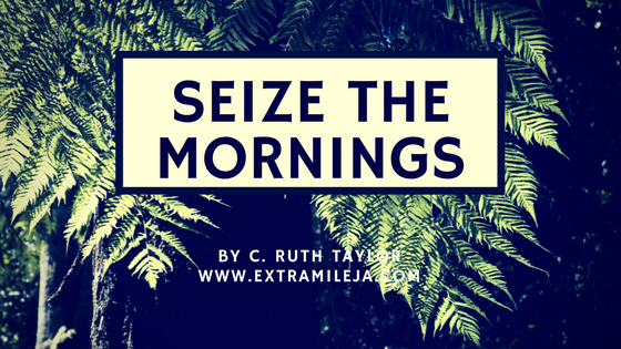 SEIZE THE MORNING:  3 Benefits of Rising Early and What to Do When You Rise Early