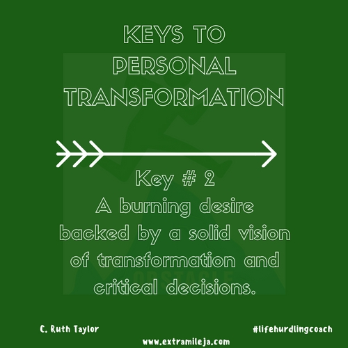 Keys to Personal Transformation Part 2 of 7