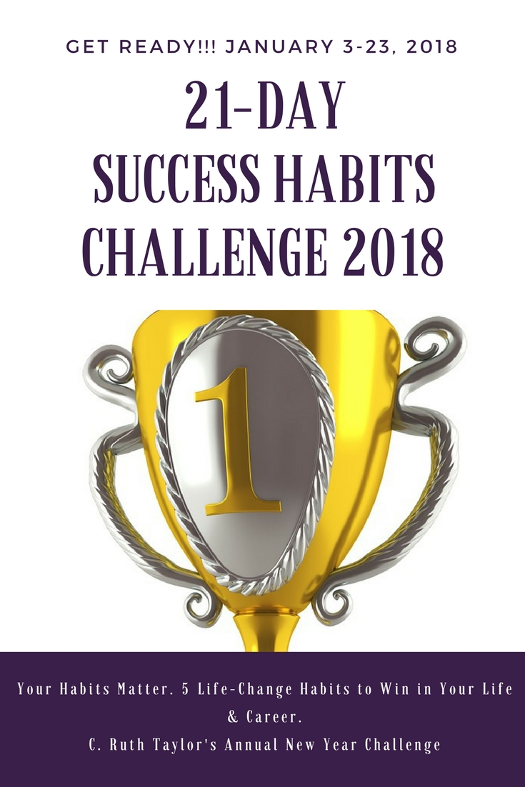 The 2018 SUCCESS HABITS CHALLENGE