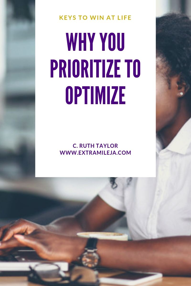 Why You Should Prioritize to Optimize