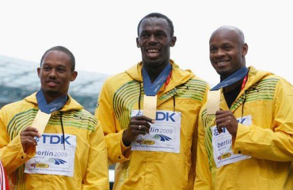 Usain Bolt and Asafa Powell